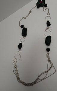 Paparazzi long necklace and earring set